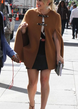 Hilary Duff on the set of 'Younger' in NYC