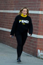 Hilary Duff - On 'Younger' Set in NYC
