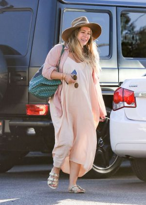 Hilary Duff - Out and about in LA