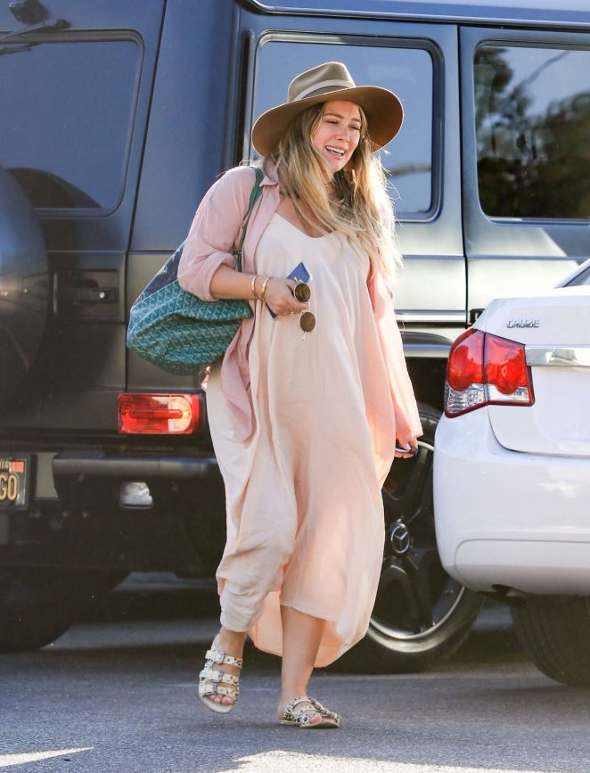 Hilary Duff – Out and about in LA