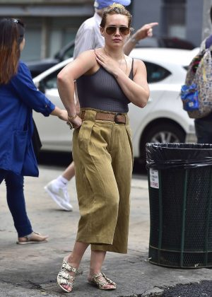 Hilary Duff - Out and About in New York City