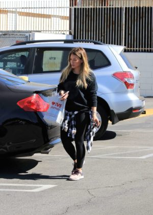 Hilary Duff - Out and about in Studio City