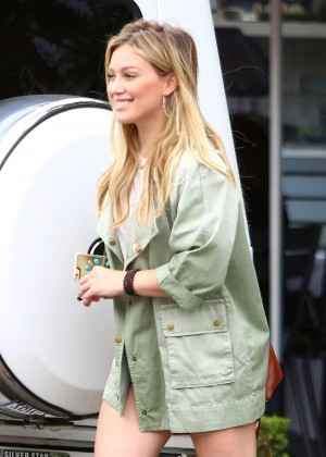 Hilary Duff - Out in West Hollywood Hilary Duff Mean