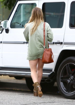 Hilary Duff - Out in West Hollywood