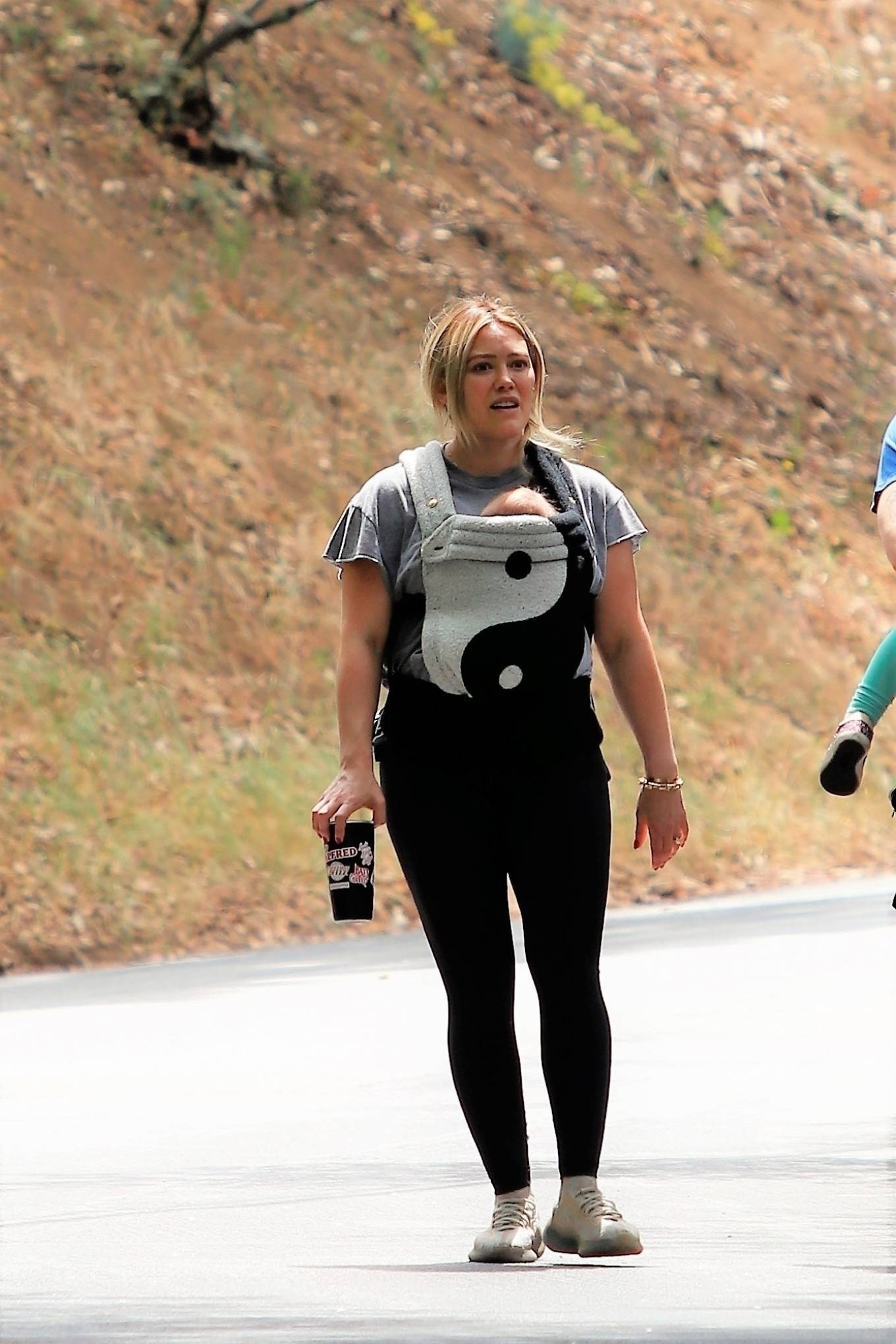 Hilary Duff 2021 : Hilary Duff – out for a hike in Studio City-03