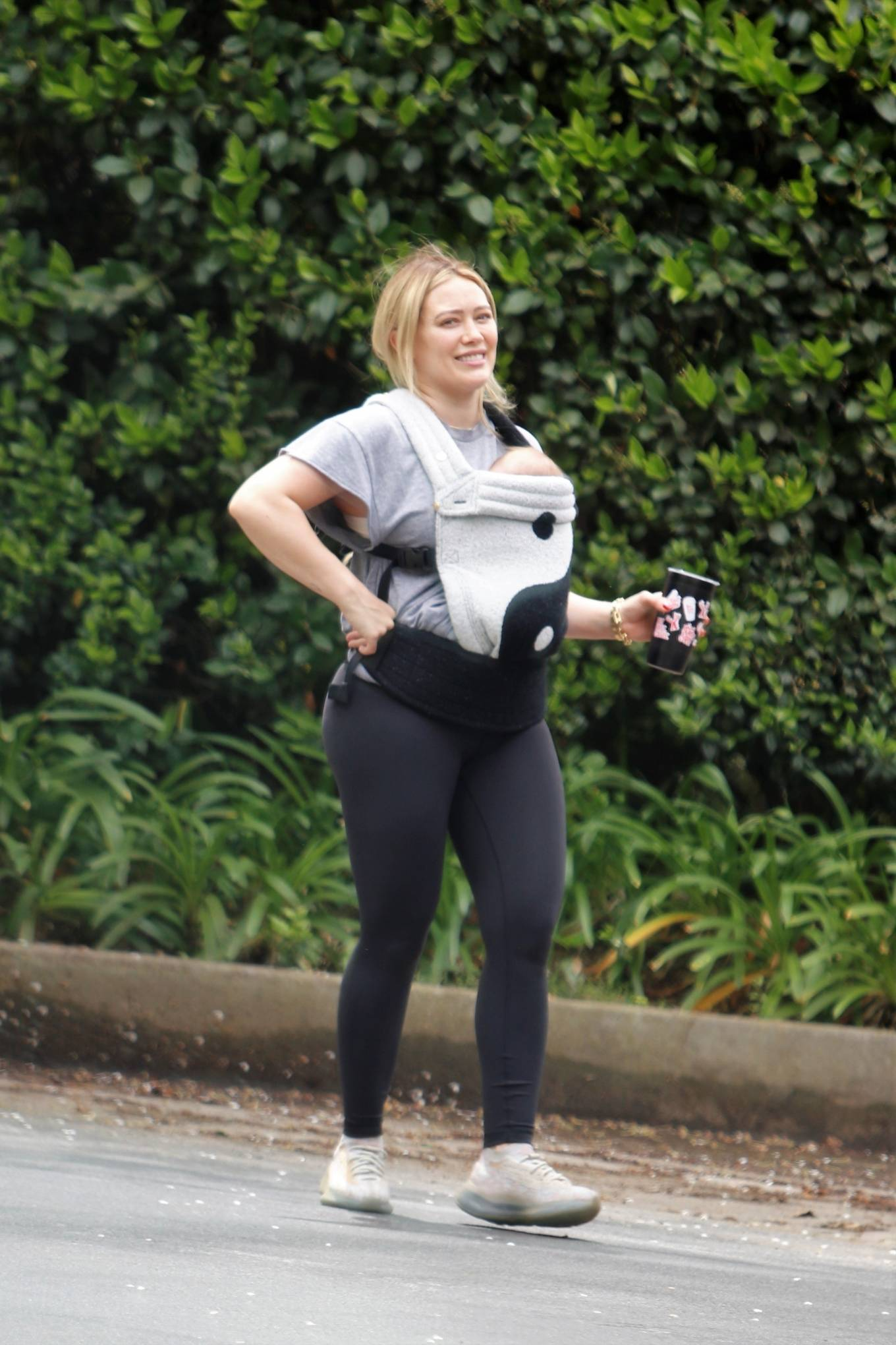 Hilary Duff 2021 : Hilary Duff – out for a hike in Studio City-04