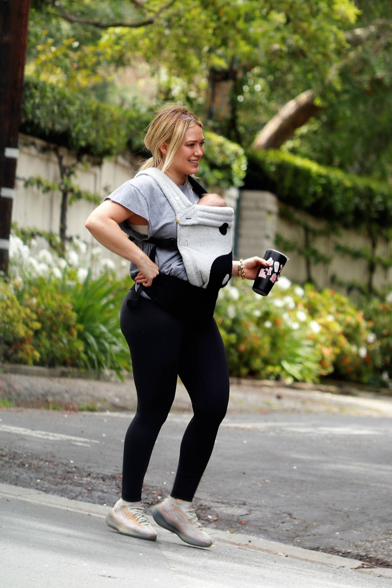 Hilary Duff 2021 : Hilary Duff – out for a hike in Studio City-05