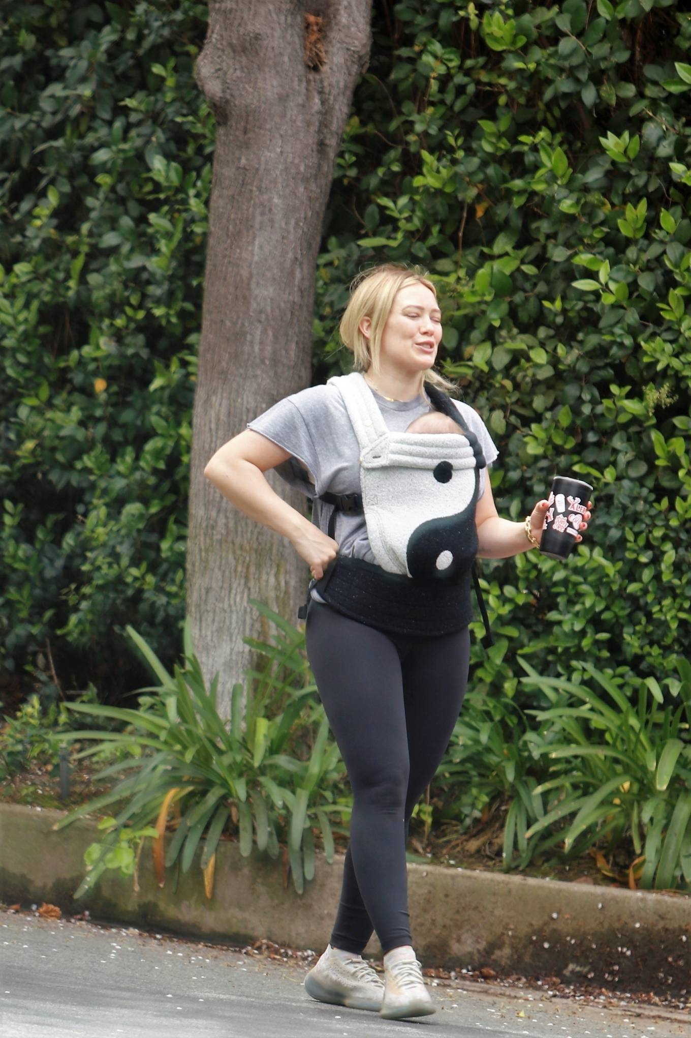 Hilary Duff 2021 : Hilary Duff – out for a hike in Studio City-06