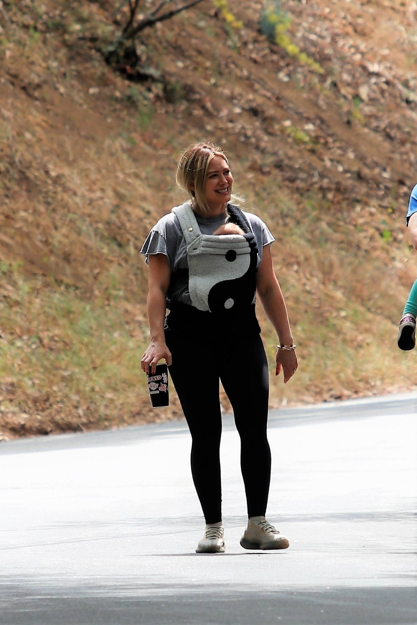 Hilary Duff 2021 : Hilary Duff – out for a hike in Studio City-09