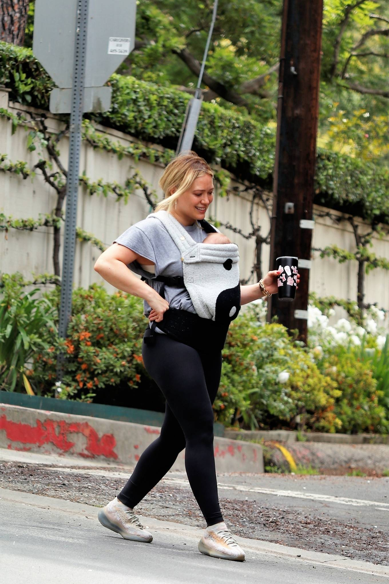 Hilary Duff 2021 : Hilary Duff – out for a hike in Studio City-15