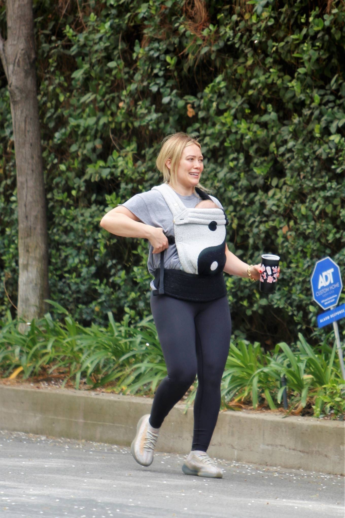 Hilary Duff 2021 : Hilary Duff – out for a hike in Studio City-17