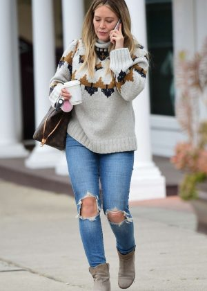 Hilary Duff - Out for coffee in Sherman Oaks