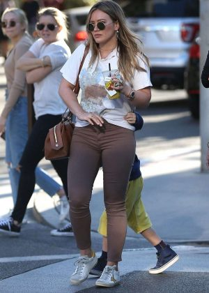 Hilary Duff - Out in Beverly Hills
