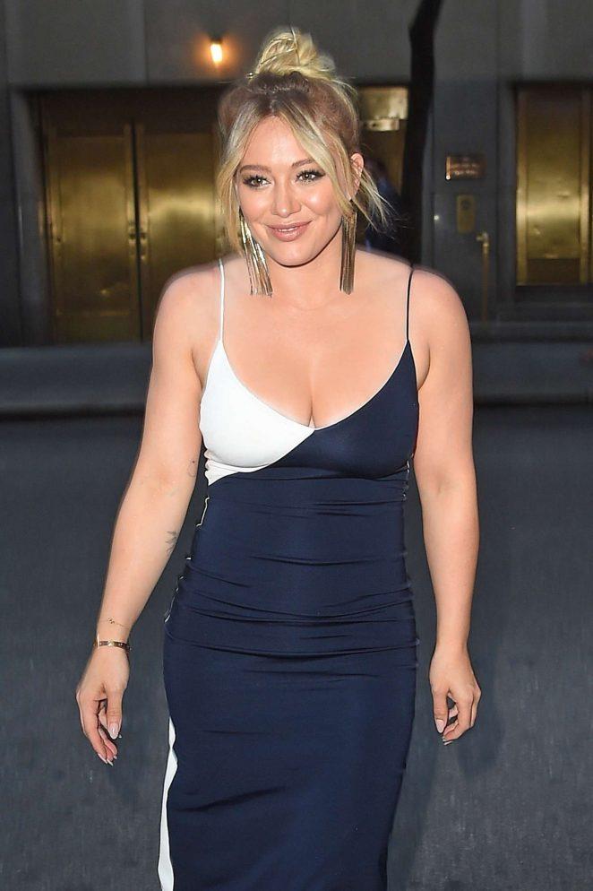 Hilary Duff out in Manhattan