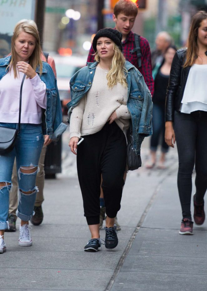 Hilary Duff: Out in NYC -03