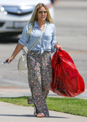 Hilary Duff out in Santa Monica