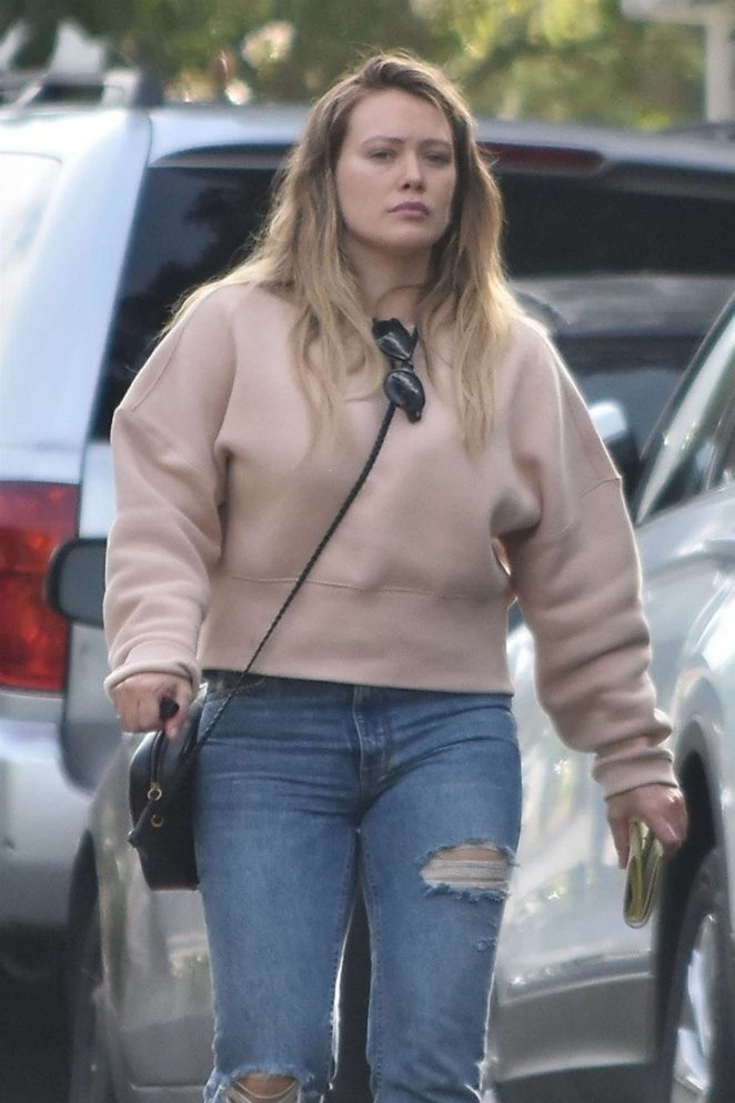 Hilary Duff – Out in Studio City