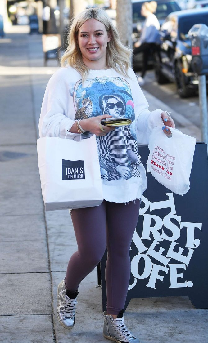 Hilary Duff - Out in Studio City