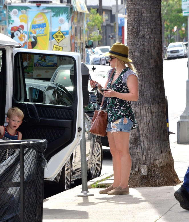 Hilary Duff: out in West Hollywood -02