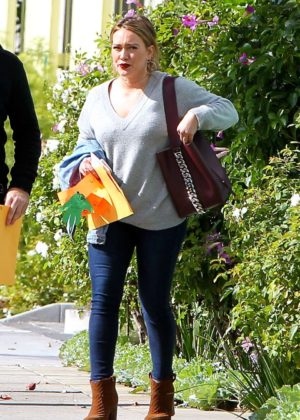 Hilary Duff out with ex husband in Los Angeles