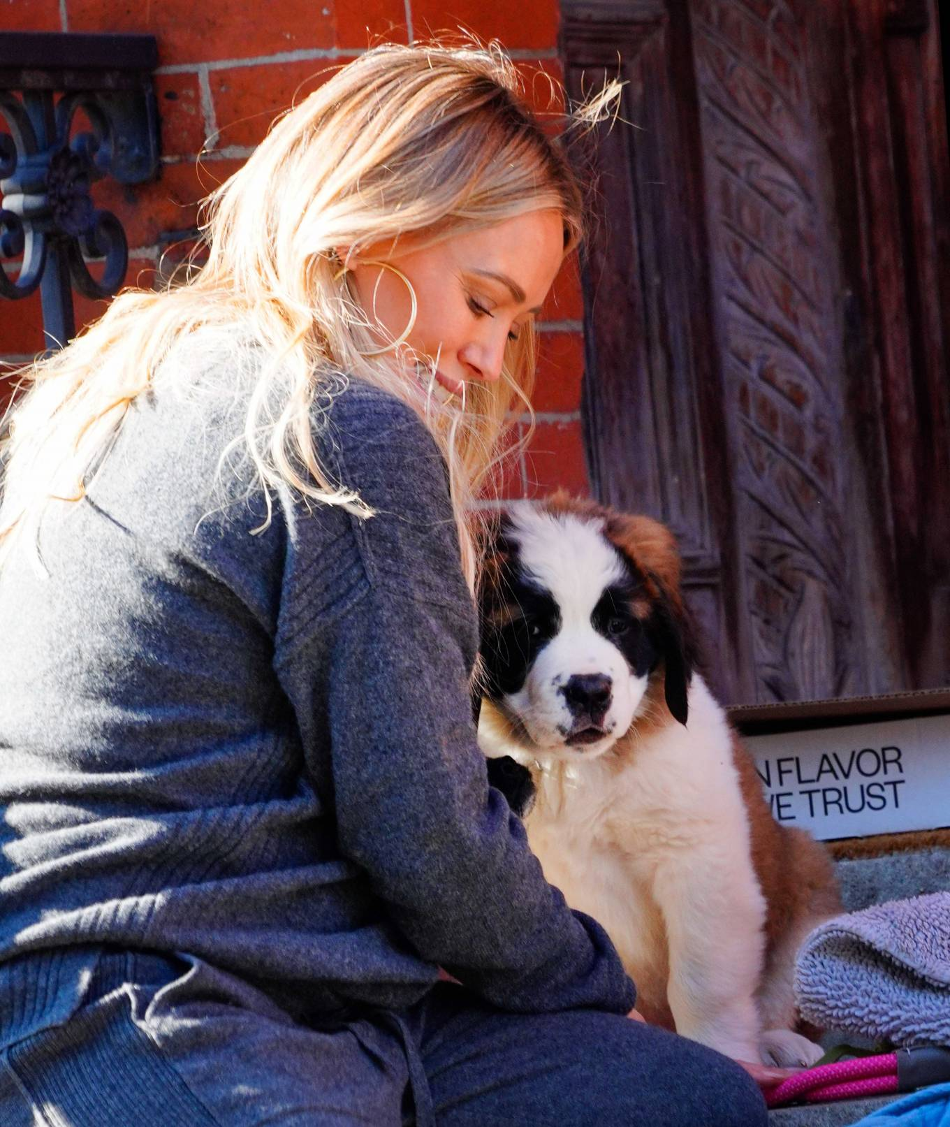 Hilary Duff 2020 : Hilary Duff – Out with her new puppy in NYC-07