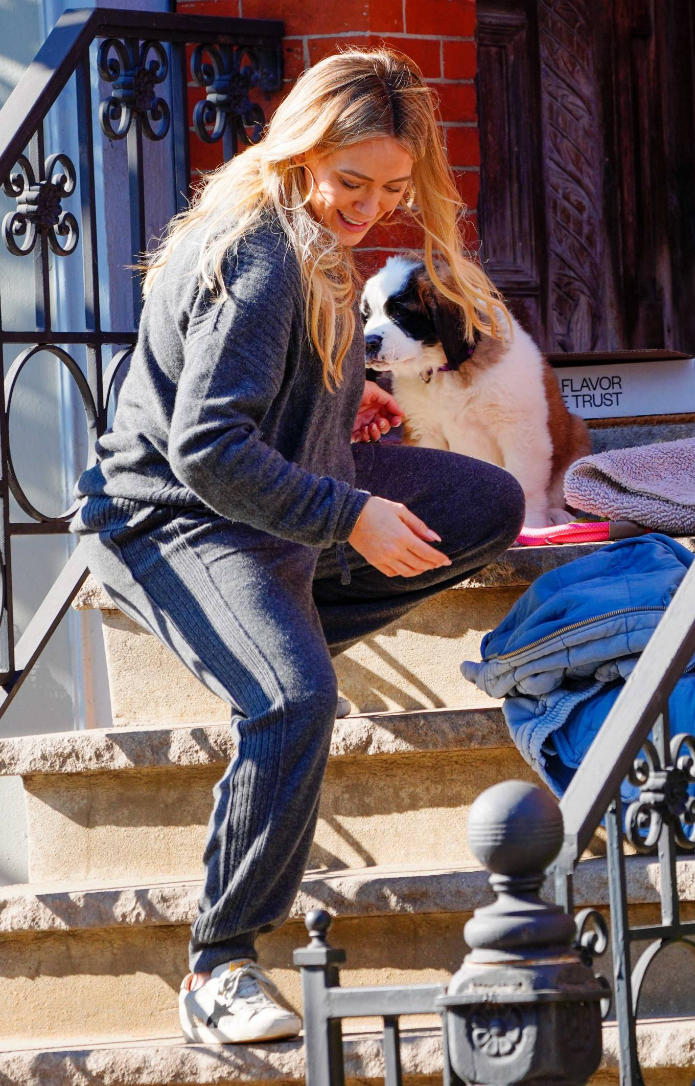 Hilary Duff 2020 : Hilary Duff – Out with her new puppy in NYC-09