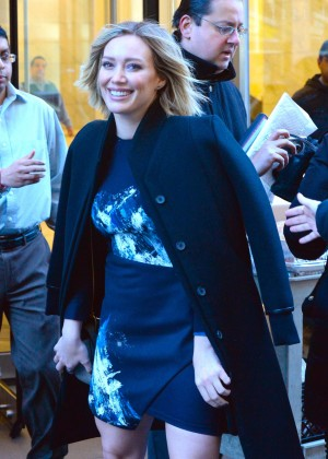 Hilary Duff promotes her new series 'Younger' in NY