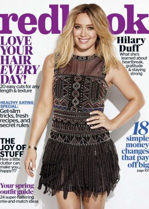 Hilary Duff - Redbook Magazine (April 2017)