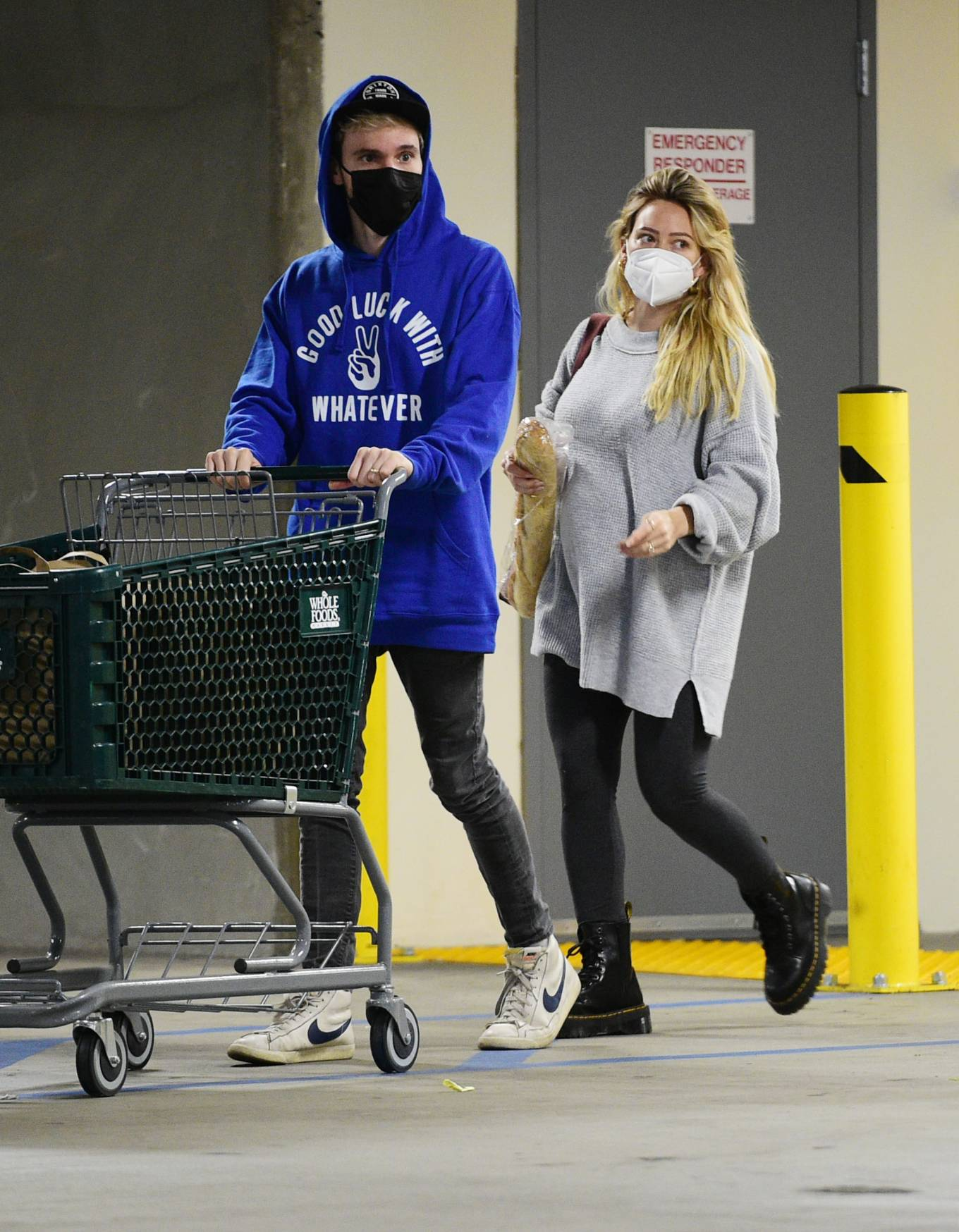 Hilary Duff - Seen at Whole Foods in Los Angeles