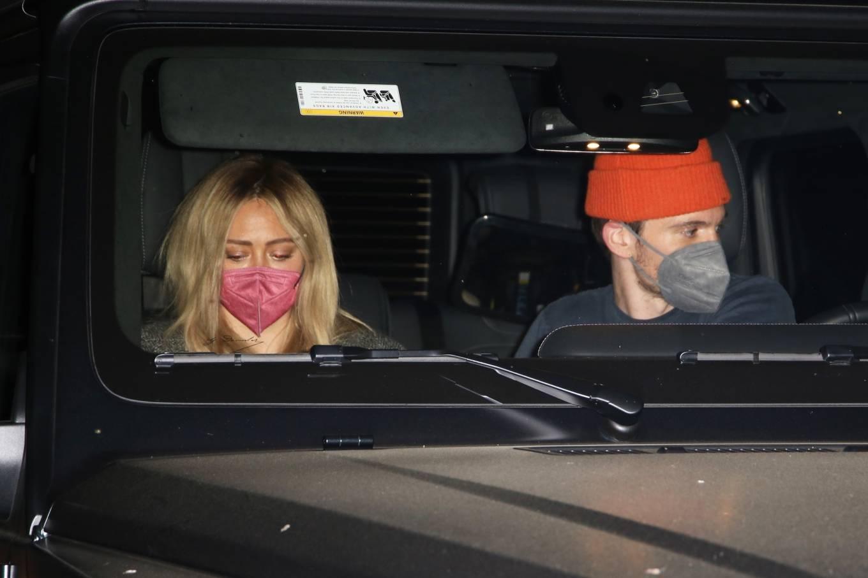 Hilary Duff 2021 : Hilary Duff – Seen leaving Matsuhisa restaurant in Beverly Hills-02
