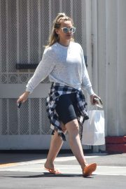 Hilary Duff - Seen on street while out in Studio City