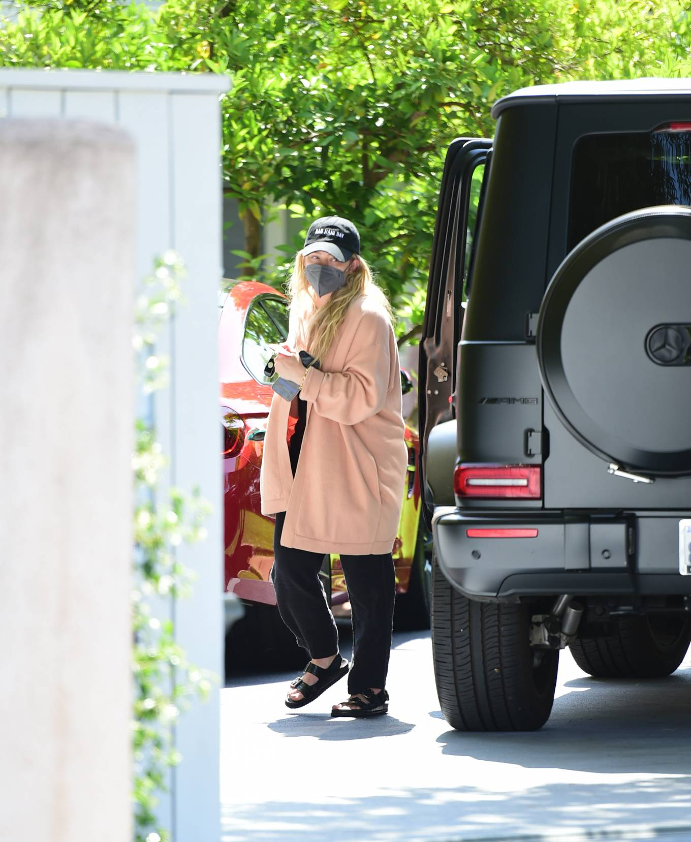 Hilary Duff 2021 : Hilary Duff – Seen out with her daughter in Los Angeles-03