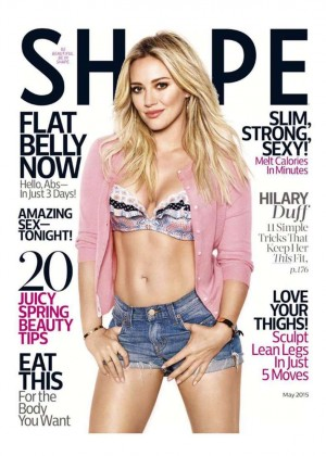 Hilary Duff - Shape Cover Magazine (May 2015)