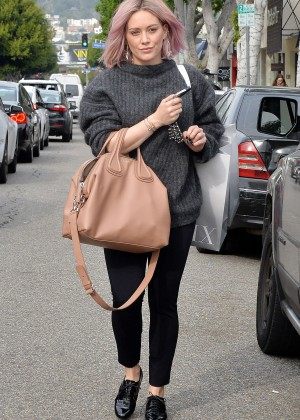 Hilary Duff - Shopping at Intermix in West Hollywood