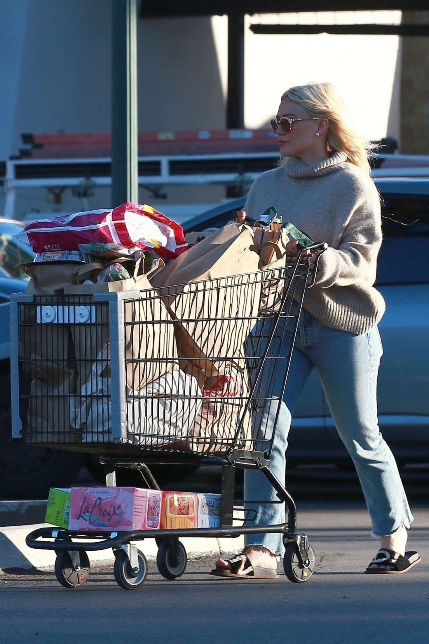 Hilary Duff 2019 : Hilary Duff: Shopping at Ralphs Supermarket -02