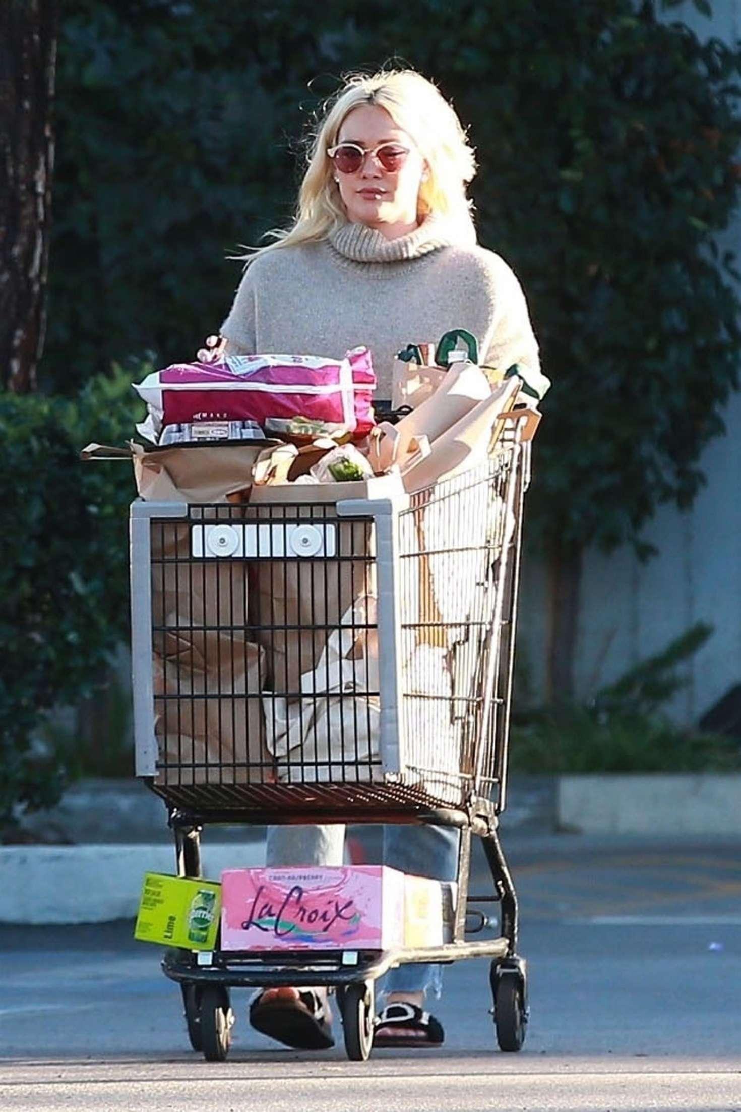 Hilary Duff 2019 : Hilary Duff: Shopping at Ralphs Supermarket -03