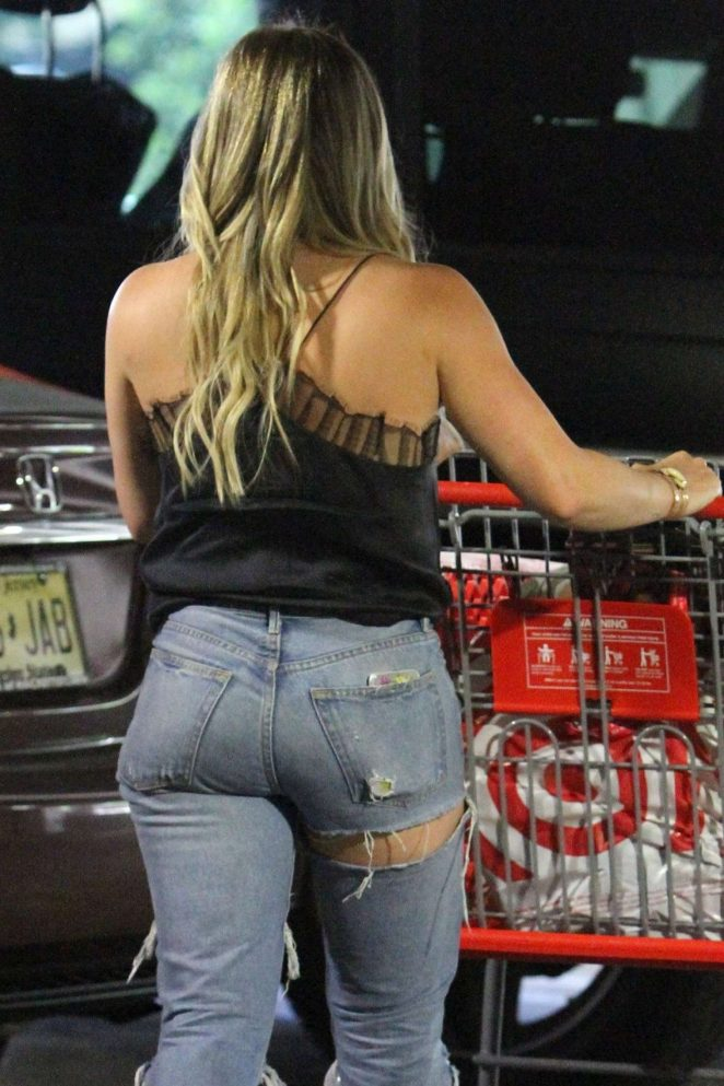 Hilary Duff - Shopping at Target in Los Angeles