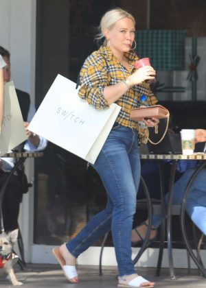 Hilary Duff - Shopping in Bel-Air