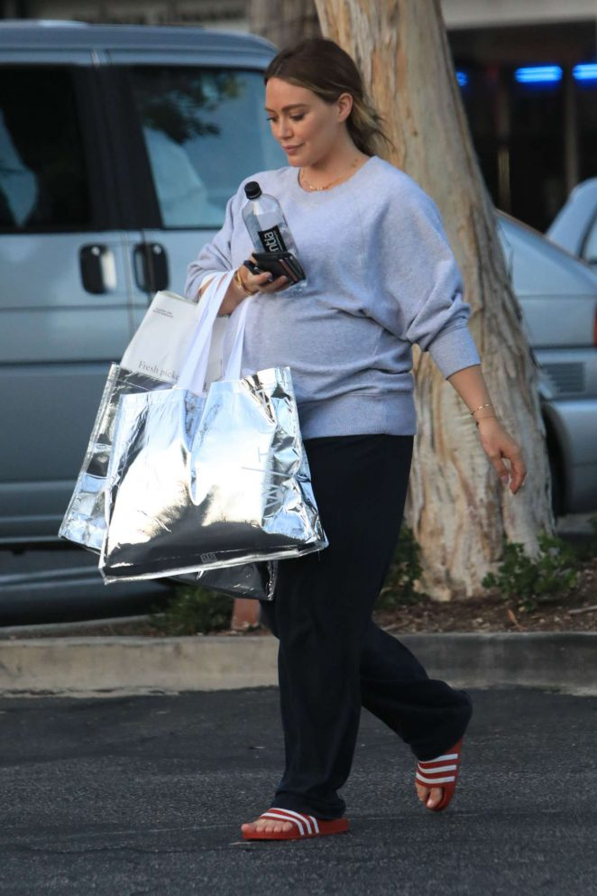 Hilary Duff - Shopping in Beverly Hills