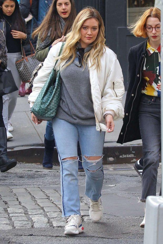 Hilary Duff: Shopping in NYC -03