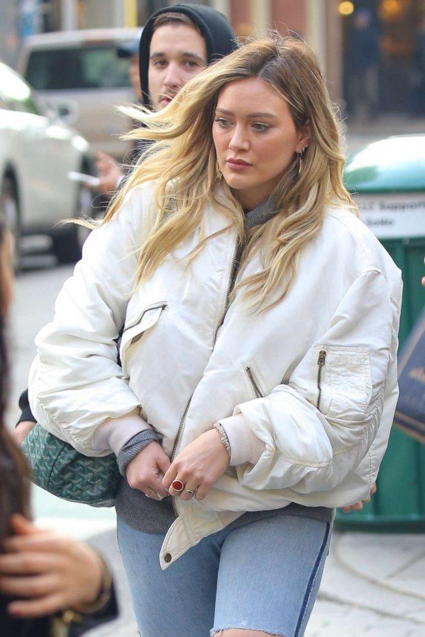 Hilary Duff: Shopping in NYC -15