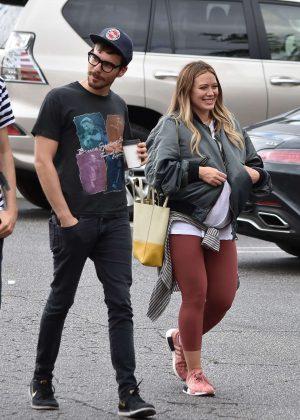 Hilary Duff - Shopping with Matthew Koma in LA