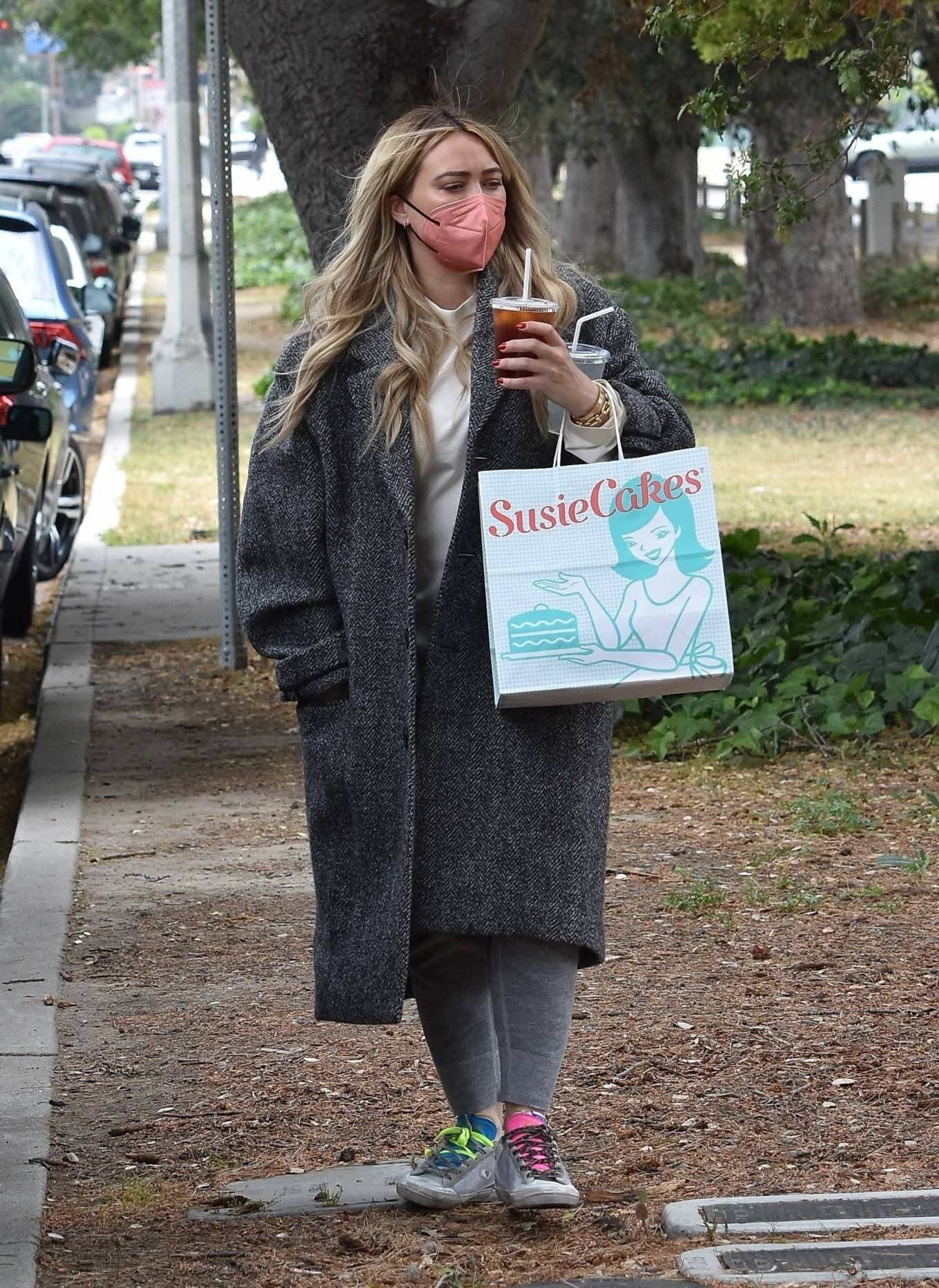 Hilary Duff 2021 : Hilary Duff – Steps out for a walk through Studio City-06