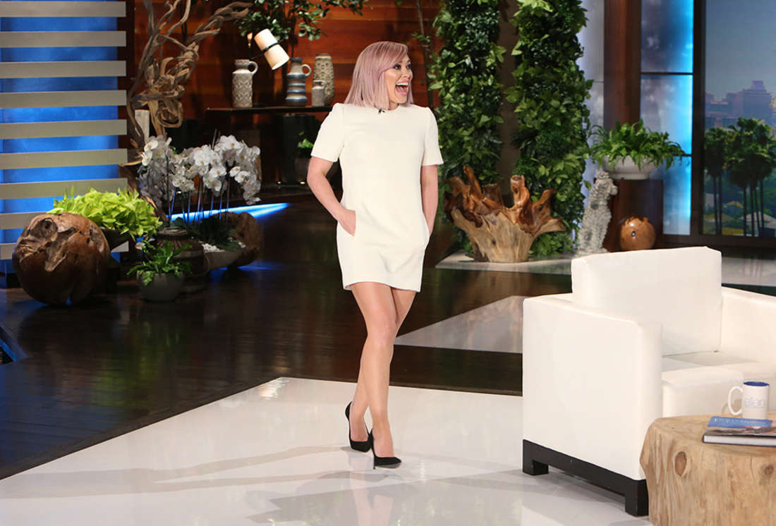Hilary duff the ellen degeneres show in la gotceleb - Ellen show address ...