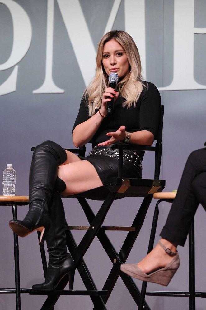 Hilary Duff - The Fast Company Innovation Festival Inside TV Land's Hit Show Younger in NY
