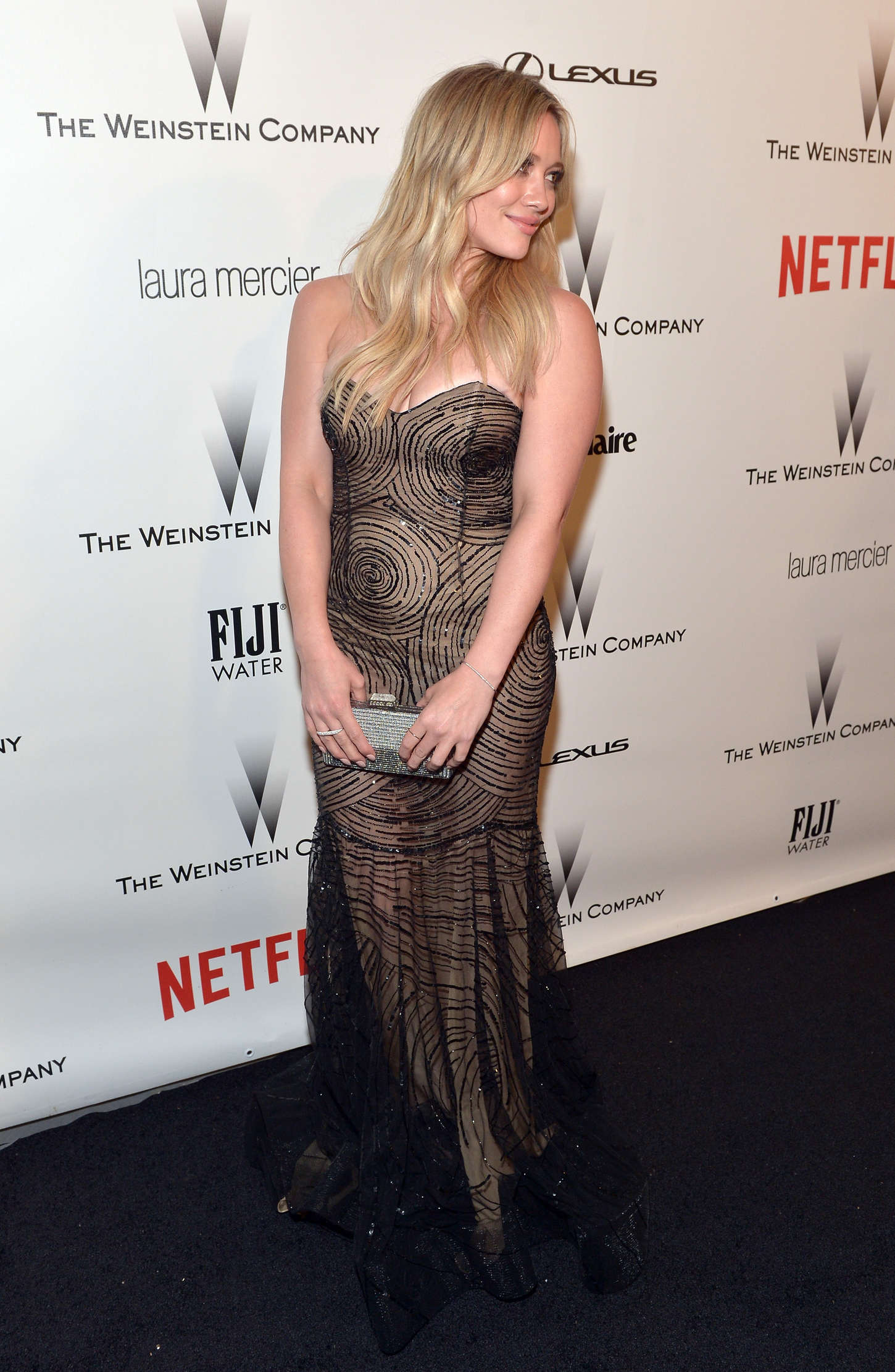 Hilary Duff 2015 : Hilary Duff: 2015 The Weinstein Company and Netflixs Golden Globes Party -03
