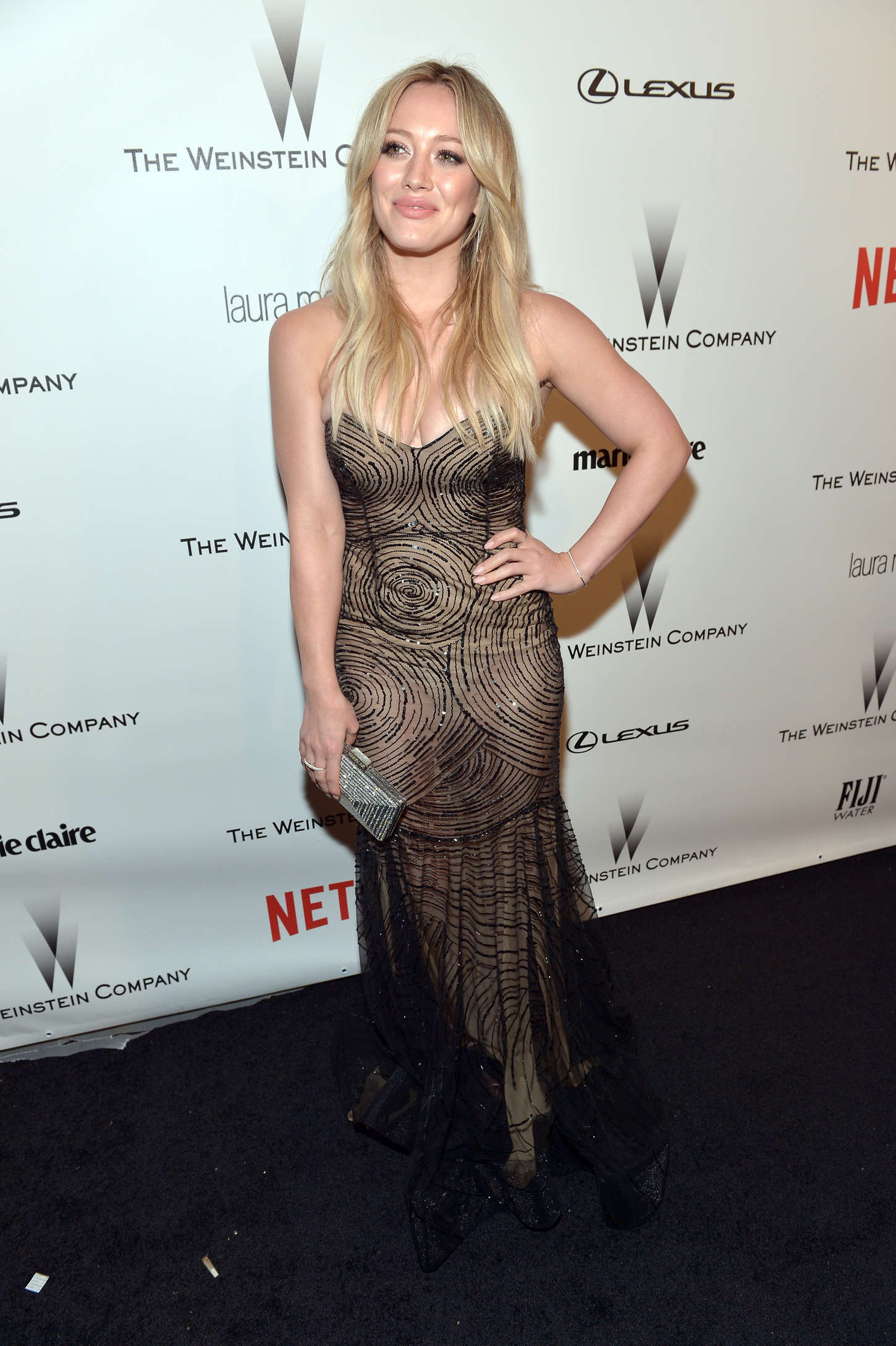 Hilary Duff 2015 : Hilary Duff: 2015 The Weinstein Company and Netflixs Golden Globes Party -06