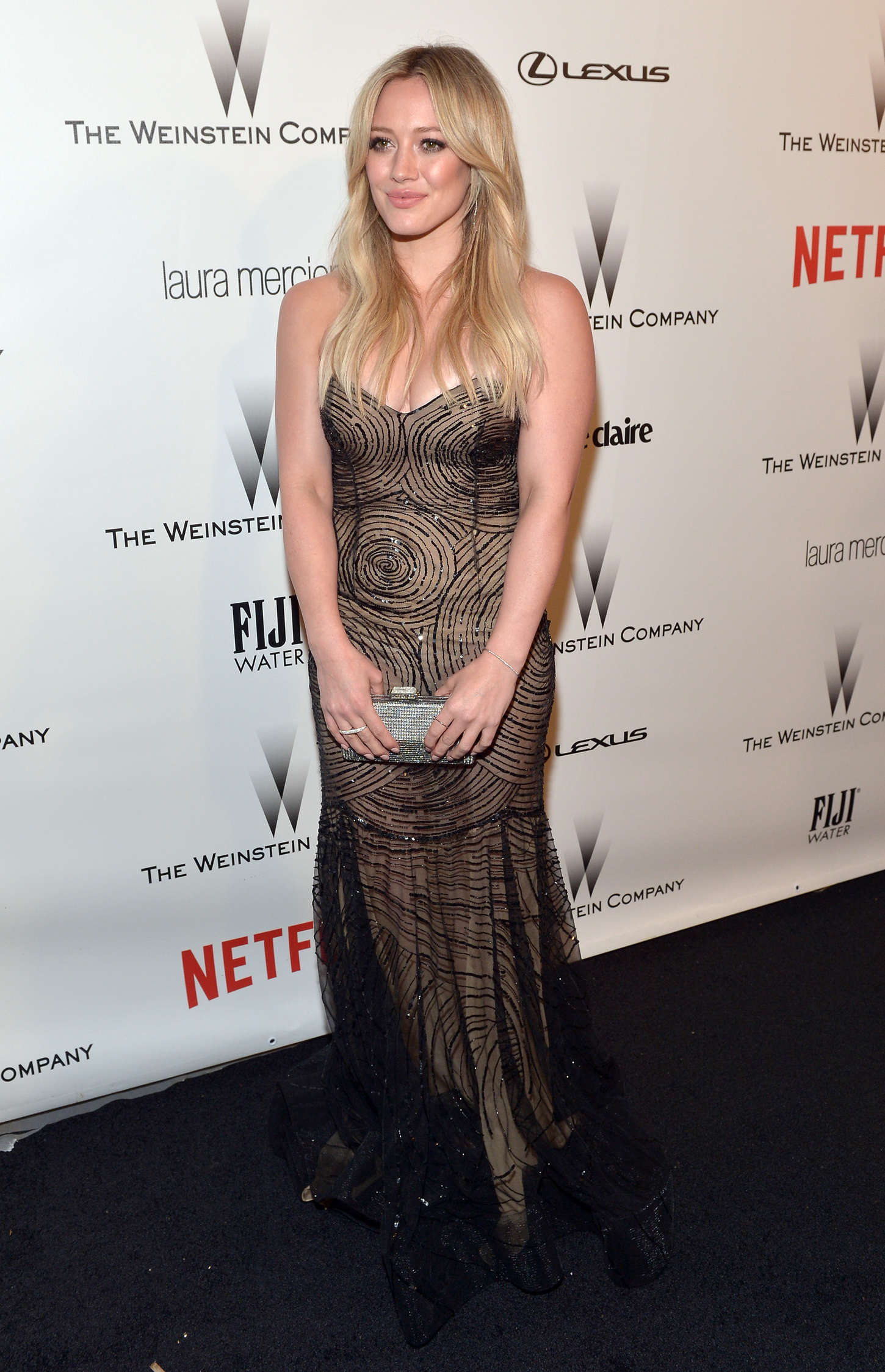 Hilary Duff 2015 : Hilary Duff: 2015 The Weinstein Company and Netflixs Golden Globes Party -07