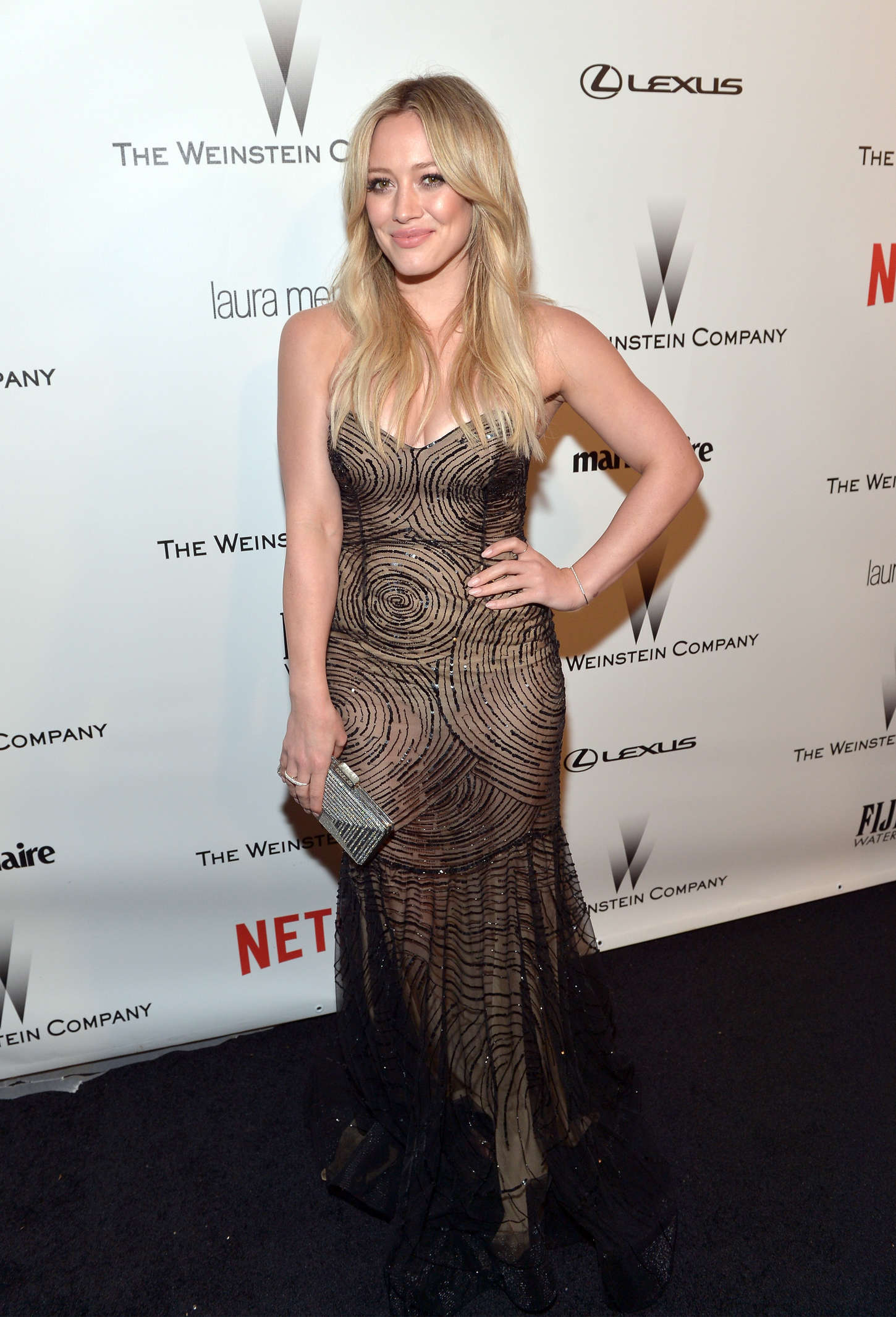 Hilary Duff - The Weinstein Company & Netflix's Golden Globes Party 2015 in Beverly Hills