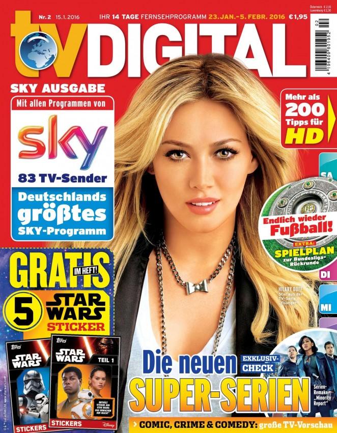 Hilary Duff - TV Digital Cover Magazine (January 2016)